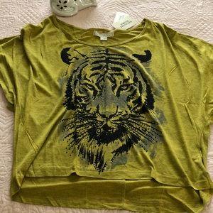 Forever 21 Logo Top - Tiger